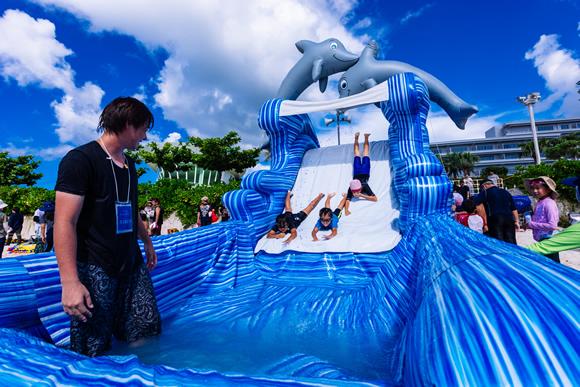 Dolphin slider