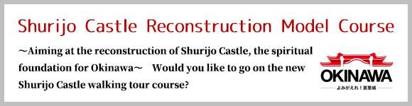 Shurijo Castle Reconstruction Model Course