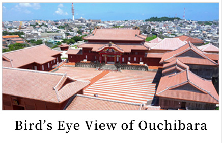 Bird's Eye View of Shurijo Castle