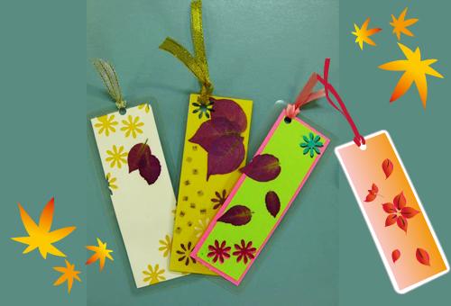 熱帯の植物体験イベント「カラーリーフでしおり作り」