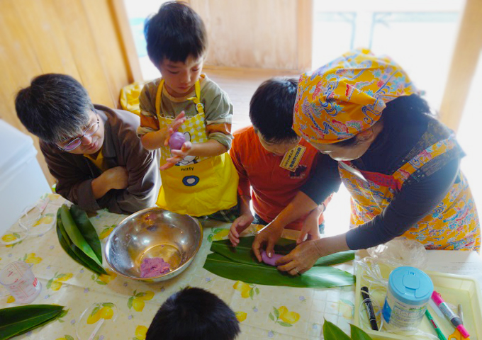 """Experience-based """"experience for making ogre rice cake made with Muti"""" participation offer!"""