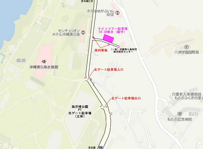 가이요하쿠 공원 나이트 투어 ~어두운 곳의 가이요하쿠 공원을 탐험하자!~
