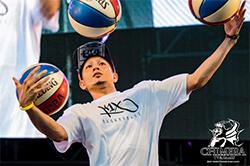 籃球表演者JJ