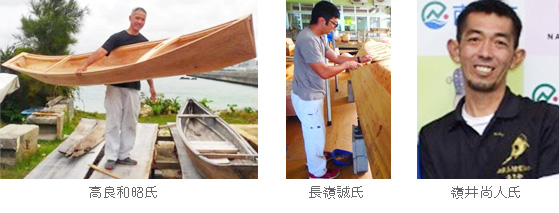 Revival - young shipwright set of traditional ship-building technology of marine culture course gallery talk Okinawa! -