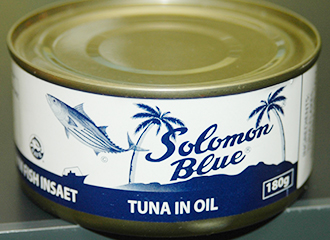 Canned foods of tuna