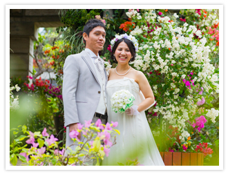 Cattleya wedding ceremony