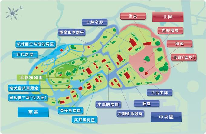 鄉土村堪探地圖