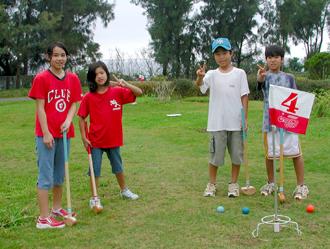 運動場高爾夫球