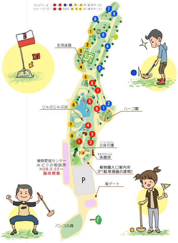運動場高爾夫球地圖