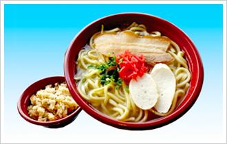 Okinawa soba set