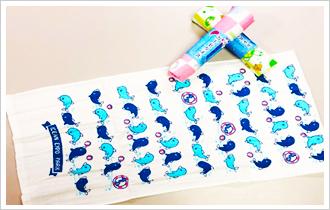 oki shop original gauze towel