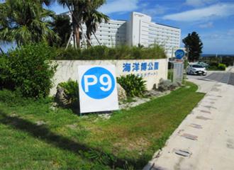 P9 parking lot