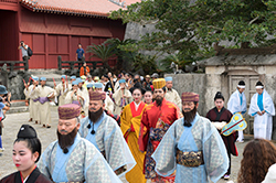 Ryukyu Kingdom Festival Shuri ancient rite line