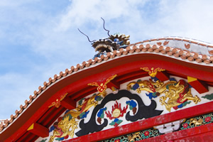 Karahafu Tsuma-kazari, the embellishment of gable pediments