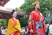Recruitment of King 2017 Shuri Castle Festival, queens!