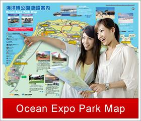 Ocean Expo Park Map