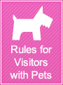 Rules for Visitors with Pets
