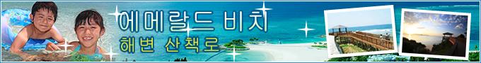 에메랄드 비치・해안 주변 시설